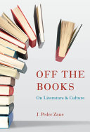 Off The Books : where j. peder zane uses classic and...