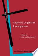 Cognitive Linguistics Investigations
