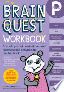Brain Quest Pre K Workbook  With Stickers