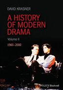 download ebook a history of modern drama, volume ii pdf epub