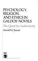 Psychology, religion, and ethics in Galdos' novels