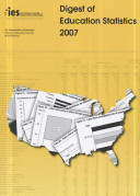 Digest Of Education Statistics 2007