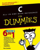 C All in One Desk Reference For Dummies