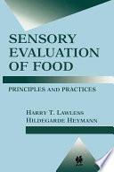 Sensory Evaluation of Food  Principles and Practices
