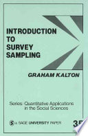 Introduction to Survey Sampling