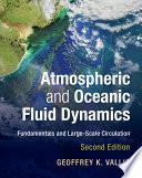 Atmospheric and Oceanic Fluid Dynamics