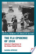 The Flu Epidemic of 1918