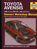 Toyota Avensis Owners Workshop Manual