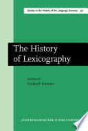 The History of Lexicography