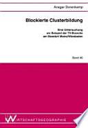 Blockierte Clusterbildung
