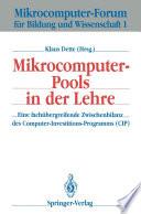 Mikrocomputer-Pools in der Lehre
