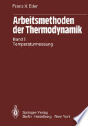 Arbeitsmethoden der Thermodynamik
