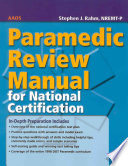 EMT Intermediate Review Manual for National Certification
