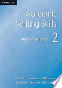 Academic Writing Skills 2 Teacher s Manual