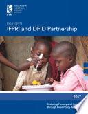 Highlights IFPRI and DFID partnership
