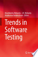 Trends in Software Testing Book PDF