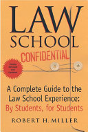 Law School Confidential  Revised