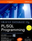 Oracle Database 10G Pl Sql Programming