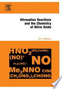 Nitrosation Reactions And The Chemistry Of Nitric Oxide : chemistry of nitric oxide, particularly in the field...