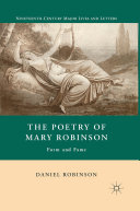 download ebook the poetry of mary robinson pdf epub