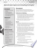 Writing Lesson Level 5  Splendid Synonyms and Amazing Antonyms