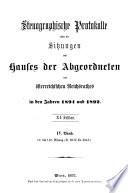 Stenographische Protokolle Ber Die Sitzungen Des Hauses Der Abgeordneten Des Sterreichischen Reichsrates