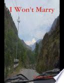 I Won t Marry Book PDF