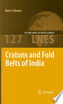 Cratons And Fold Belts Of India : at presenting geological characteristics and evolution of the...