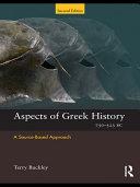 Aspects of Greek History 750–323BC