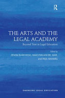 The Arts and the Legal Academy  Vol  1