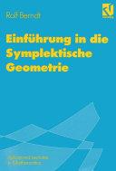Einführung in die Symplektische Geometrie