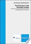 Forschung in der Sozialen Arbeit