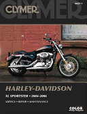 Clymer Harley Davidson XL Sportster  2004 2006