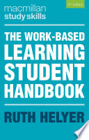 The Work Based Learning Student Handbook