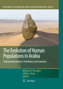 """""""The Evolution of Human Populations in Arabia"""" Cover"""