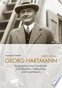 Georg Hartmann (1870-1954)
