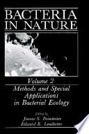 Methods And Special Applications In Bacterial Ecology book