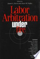 Labor Arbitration Under Fire