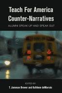 Teach for America Counter Narratives