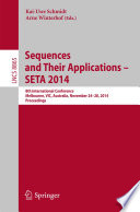 Sequences and Their Applications   SETA 2014