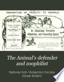 The Animal's Defender and Zoophilist Free download PDF and Read online