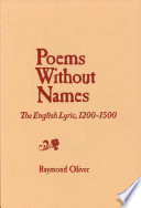 Poems Without Names