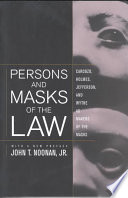 Persons and Masks of the Law