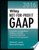 Wiley Not for Profit GAAP 2016
