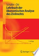 Lehrbuch der   konomischen Analyse des Zivilrechts