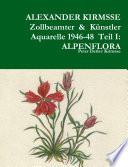 ALEXANDER KIRMSSE ZOLLBEAMTER & KUNSTLER AQUARELLE 1946-48 TEIL I