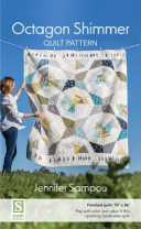 Octagon Shimmer Quilt Pattern  70  X 86    Play with Color and Value in This Sparkling Spiderweb Quilt