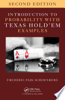 Introduction to Probability with Texas Hold  em Examples Book PDF