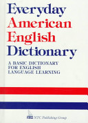 Everyday American English Dictionary