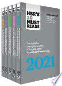5 Years of Must Reads from HBR: 2021 Edition (5 Books)